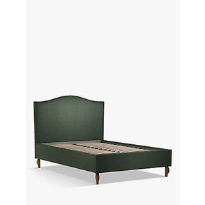 John Lewis & Partners Charlotte Upholstered Bed Frame, Double, Marylamb Sage Green