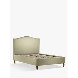 John Lewis & Partners Charlotte Upholstered Bed Frame, Double, Saga Latte