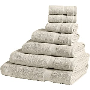 John Lewis & Partners Egyptian Cotton Towels, Linen