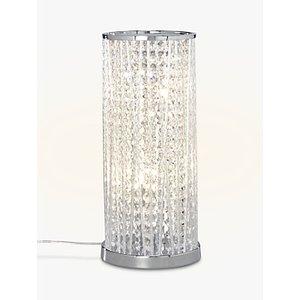 John Lewis & Partners Emilia Large Table Lamp, Clear