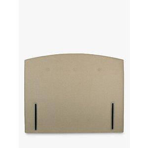 John Lewis & Partners Grace Full Depth Upholstered Headboard, Super King Size, Saga Latte