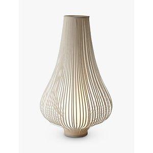 John Lewis & Partners Harmony Ribbon Large Table Lamp, Natural