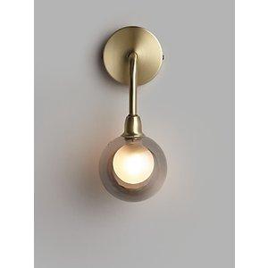 John Lewis & Partners Huxley Wall Light, Antique Brass