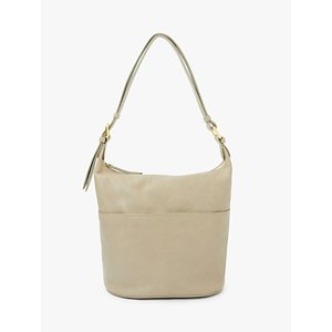 John Lewis & Partners Kepley Leather Cross Body Bag, Ecru Womens Accessories