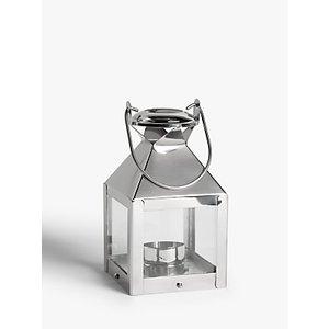 John Lewis & Partners Mini Square Lantern Candle Holder  237987943 House Accessories