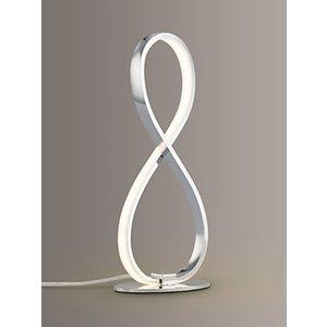 John Lewis & Partners Ora Led Table Lamp, Chrome