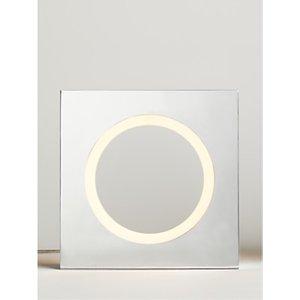 John Lewis & Partners Oriel Led Table Lamp, Silver