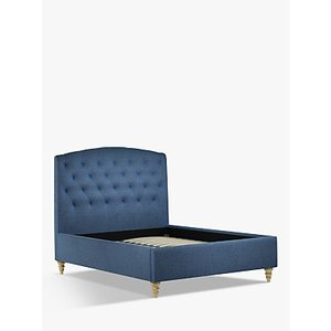 John Lewis & Partners Rouen Upholstered Bed Frame, Double, Saga Ocean