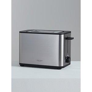 John Lewis & Partners Simplicity 2-slice Toaster, Stainless Steel