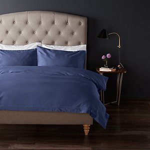 John Lewis & Partners The Ultimate Collection 1000 Thread Count Egyptian Cotton Bedding Sapphire House Accessories, Sapphire
