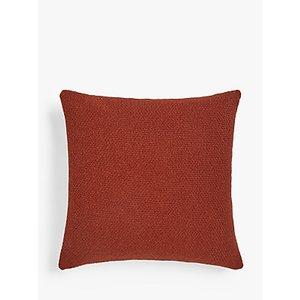 John Lewis & Partners Wool Blend Boucle Cushion, Paprika