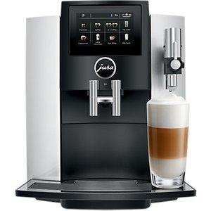 Jura S8 Bean-to-cup Coffee Machine, Silver