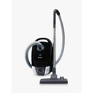 Miele Compact C2 Powerline Cylinder Vacuum Cleaner, Black
