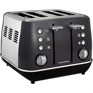 Morphy Richards Evoke 4-slice Toaster, Black