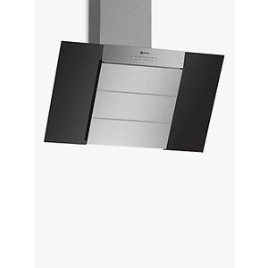 Neff D85ibe1s0b Chimney Cooker Hood, A Energy Rating, Black