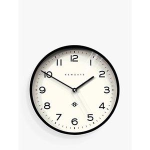 Newgate Clocks Echo Number 3 Analogue Wall Clock, 37cm Black 693115627530 House Accessories, Black