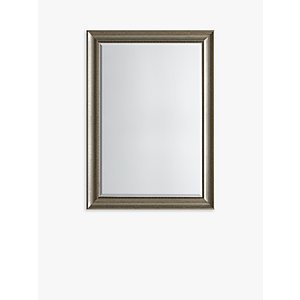 Presley Rectangular Wall Mirror, Antique Silver  House Accessories