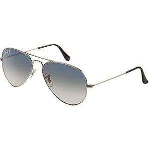 Ray-ban Rb3025 004/78 Aviator Sunglasses, Gunmetal Womens Accessories