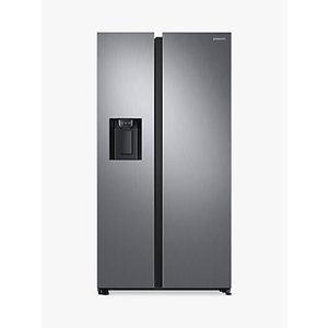 Samsung Rs68n8230s9 American Style Fridge Freezer, A+ Energy Rating, 91cm Wide, Silver