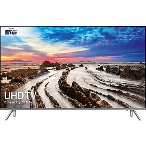 Samsung Ue49mu7000 Hdr 1000 4k Ultra Hd Smart Tv, 49 With Tvplus/freesat Hd, Active Crysta