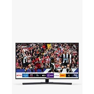 Samsung Ue55ru7400 (2019) Hdr 4k Ultra Hd Smart Tv, 55 With Tvplus/freesat Hd & Apple Tv A