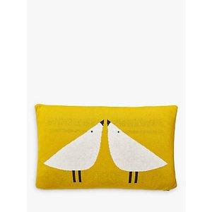 Scion Lintu Knitted Cushion, Yellow