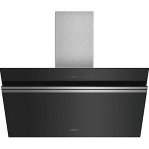 Siemens Iq700 Lc91kww60b 90cm Wall Mounted Chimney Cooker Hood, A+ Energy Rating, Black