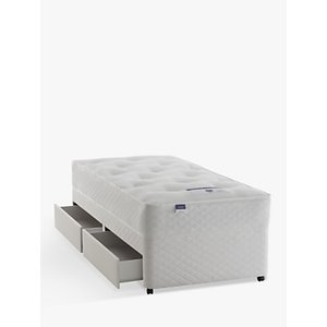 Silentnight Sleep Soundly Miracoil Ortho Divan Base And Mattress Set, Fsc-certified (picea Abies, Ch