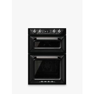 Smeg Dosf6920n1 Victoria Built-in Multifunction Double Oven, Black