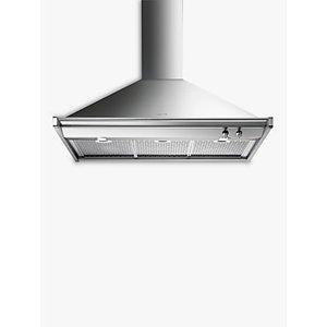 Smeg Kd100xe Chimney Cooker Hood, Stainless Steel