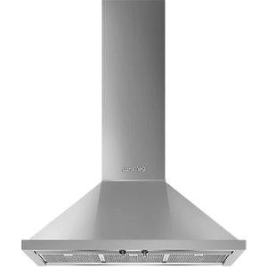 Smeg Portofino Kpf9 90cm Chimney Cooker Hood, Stainless Steel