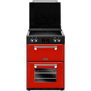 Stoves Richmond 600ei Induction Range Cooker, Red