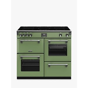 Stoves Richmond Deluxe S1000ei 100cm Electric Range Cooker, A Energy Rating,, Soho Green