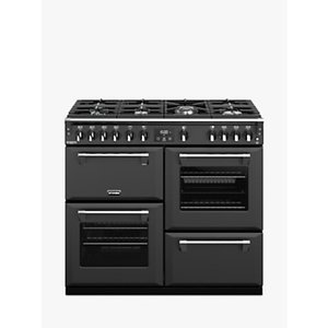 Stoves Richmond Deluxe S1000g 100cm Gas Range Cooker, A+/a Energy Rating,, Anthracite