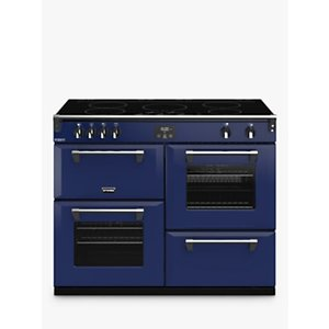 Stoves Richmond Deluxe S1100ei Induction Range Cooker With Zeus Bluetooth Connected Timer, Hot Jalap, Midnight Gaze