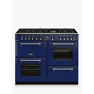 Stoves Richmond Deluxe S1100g Gas Range Cooker With Zeus Bluetooth Connected Timer, Anthracite Blue, Midnight Gaze