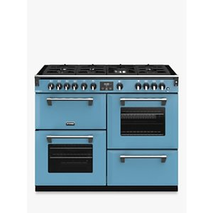 Stoves Richmond Deluxe S1100g Gas Range Cooker With Zeus Bluetooth Connected Timer, Anthracite, Days Break