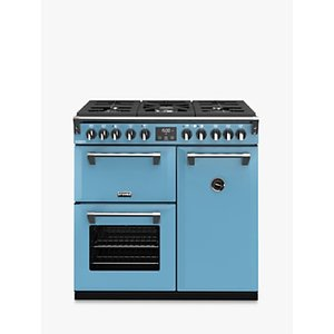 Stoves Richmond Deluxe S900df Dual Fuel Range Cooker With Zeus Bluetooth Connected Timer, Days Break