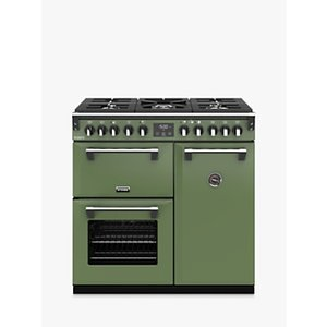 Stoves Richmond Deluxe S900df Dual Fuel Range Cooker With Zeus Bluetooth Connected Timer, Soho Green