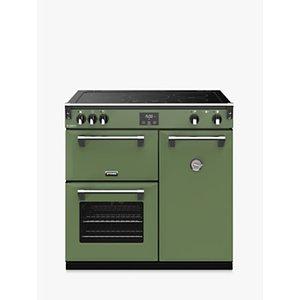 Stoves Richmond Deluxe S900ei Induction Range Cooker, Soho Green