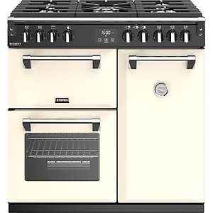 Stoves Richmond Deluxe S900g Gas Range Cooker, Classic Cream