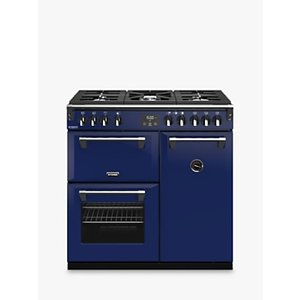 Stoves Richmond Deluxe S900g Gas Range Cooker With Zeus Bluetooth Connected Timer, Midnight Gaze