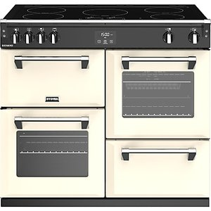 Stoves Richmond S1000ei 100cm Induction Electric Range Cooker, A Energy Rating,, Classic Cream
