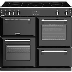Stoves Richmond S1000ei 100cm Induction Electric Range Cooker, A Energy Rating,, Black