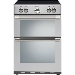 Stoves Sterling 600mfti Freestanding Electric Cooker, Stainless Steel