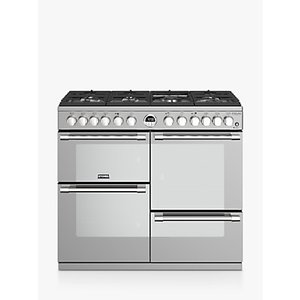 Stoves Sterling Deluxe S1000df Range Cooker, Silver