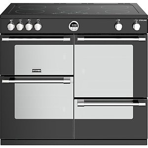 Stoves Sterling S1000ei Induction Electric Range Cooker, A+ Energy Rating, Black
