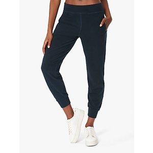 Sweaty Betty Gary Luxe Fleece Yoga Pants Beetle Blue, Beetle Blue