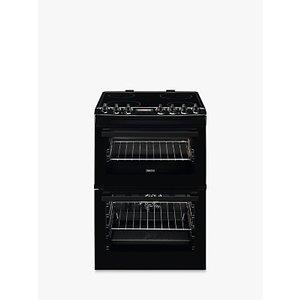 Zanussi Zcv69350ba Electric Hob Double Cooker, Black