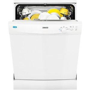 Zanussi Zdf21001wa Freestanding Dishwasher, White